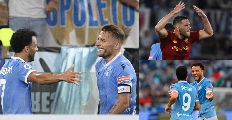 Lazio, festa nel derby: Roma battuta 3-2