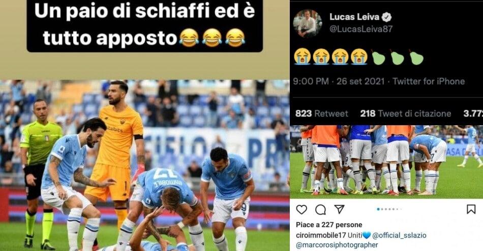 Lazio, festa derby sui social: tutti i messaggi dopo la vittoria