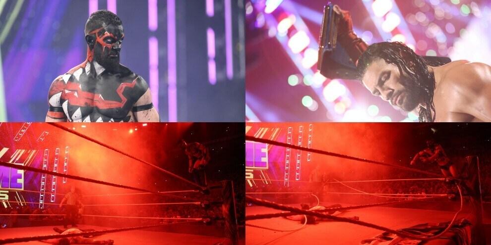 WWE Extreme Rules 2021, Bálor tradito da una corda rotta
