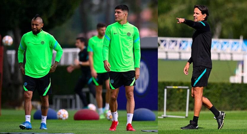 Inter, buone notizie per Inzaghi: Correa e Vidal in gruppo