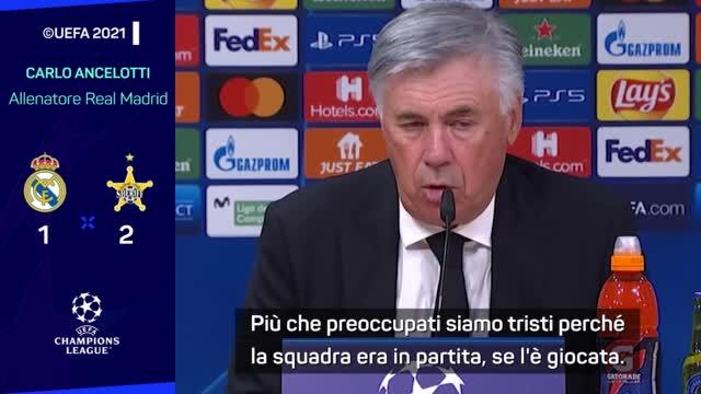 """Ancelotti incredulo: """"Difficile spiegare il ko con lo Sheriff"""""""