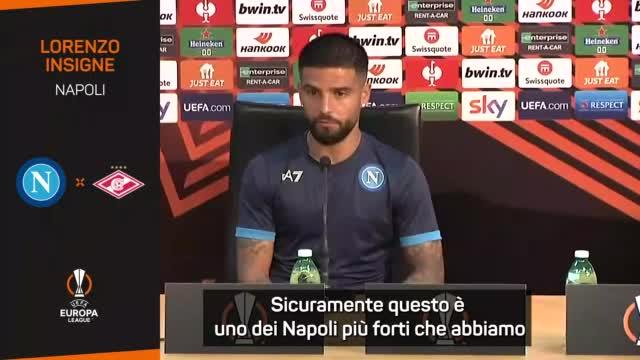 """Insigne: """"Questo Napoli tra i più forti"""""""