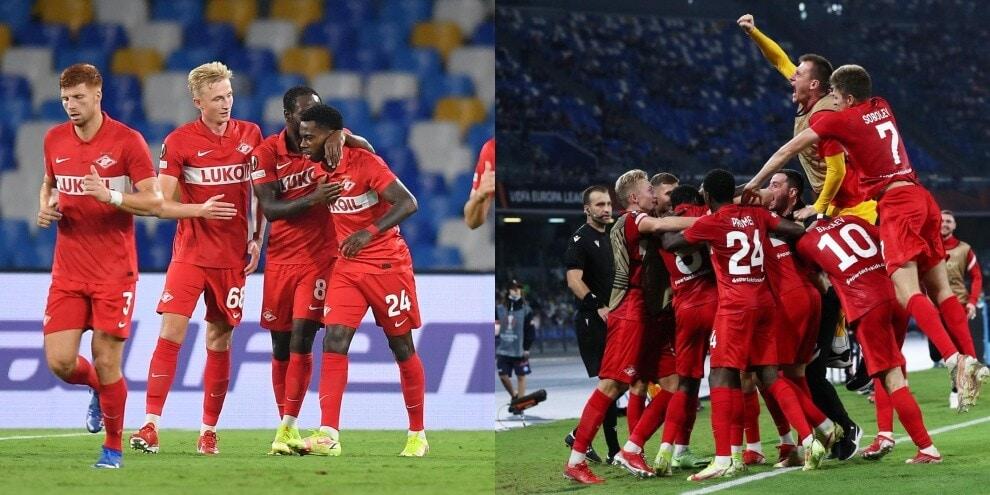 Napoli, Elmas illude Spalletti: lo Spartak Mosca vince 3-2