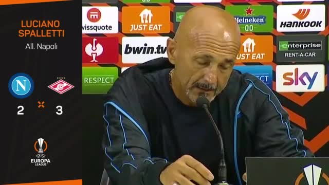 """Spalletti: """"Giusto il rosso a Mario Rui, ma anche il fallo su Manolas..."""""""