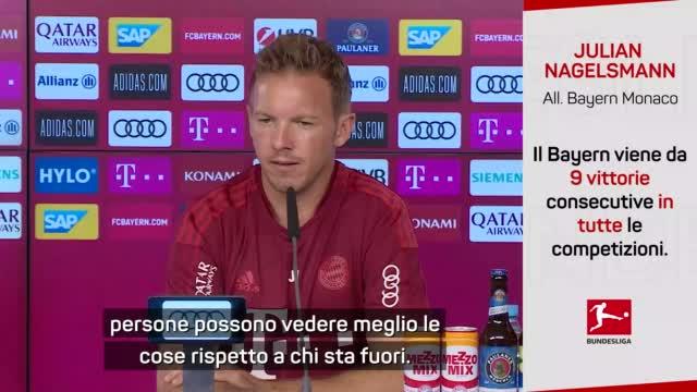 "Bayern, Nagelsmann modesto: ""Grande squadra, io c'entro poco"""
