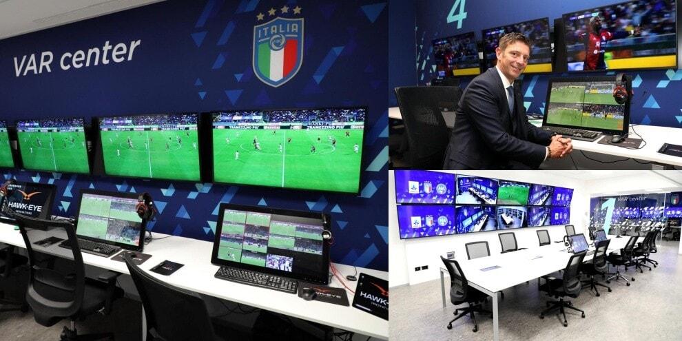 Il nuovo centro Var della Lega di Serie A: ecco com'è