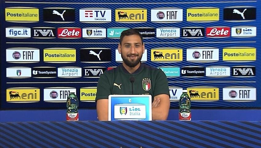 """Donnarumma :""""Milano è il luogo del cuore"""""""