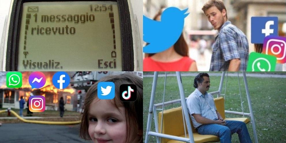 Social down, su Twitter dilaga l'ironia su WhatsApp, Instagram e Facebook