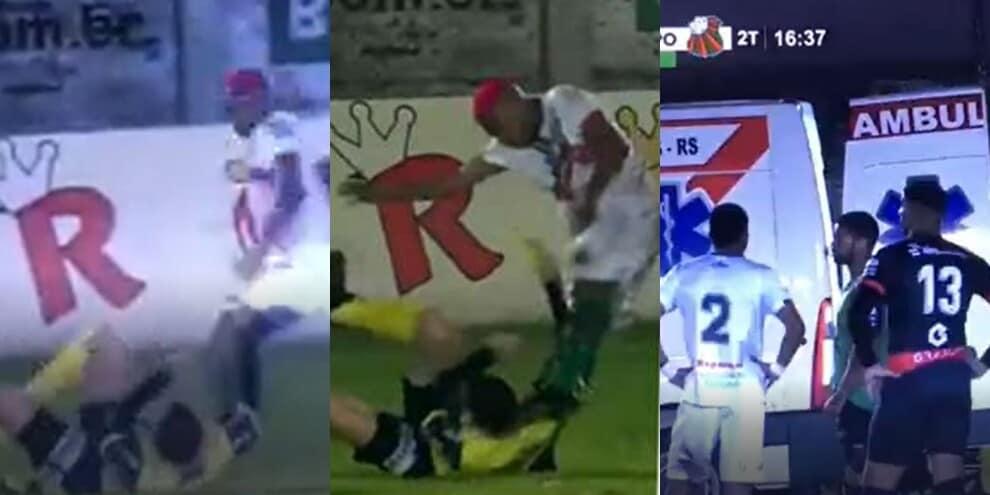 Calcio in testa all'arbitro: giocatore arrestato per tentato omicidio