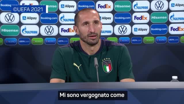 """Chiellini: """"Koulibaly? Da italiano mi sono vergognato"""""""