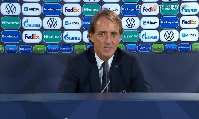 """Mancini: """"Meglio aver perso stasera che in una finale.."""""""