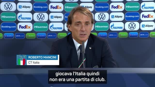 "Mancini: ""Perdón por los silbidos de Tonnarumma"""
