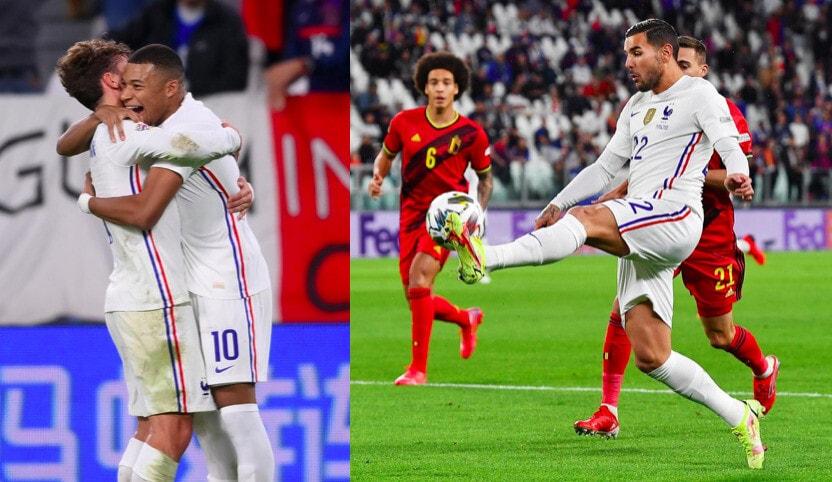 Theo Hernandez decisivo, che rimonta della Francia: Belgio ko