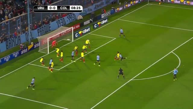 Uruguay-Colombia, finisce 0-0 il derby juventino tra Bentancur e Cuadrado