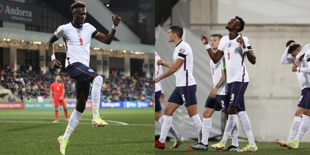 Abraham si prende l'Inghilterra! A segno nella manita sull'Andorra