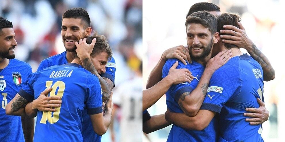 Gioiello di Barella e rigore di Berardi: l'Italia chiude 3ª in Nations League