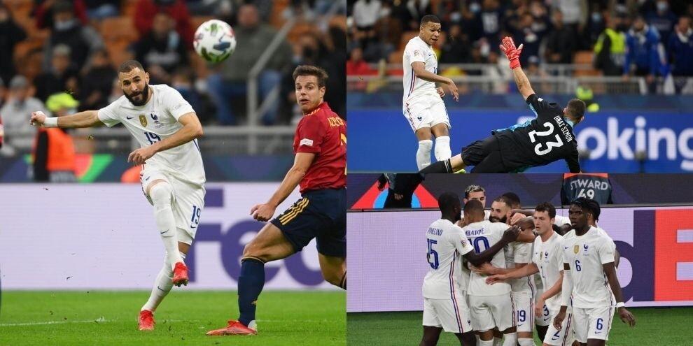 Magia Benzema, squillo Mbappé: la Francia vince la Nations League