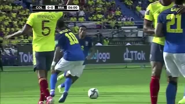 Neymar non basta, Colombia-Brasile 0-0