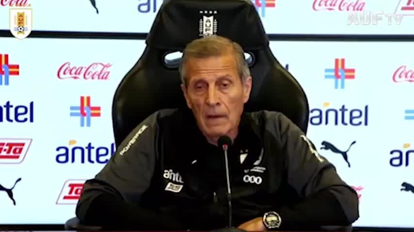 """Tabarez: """"Cavani è ancora un top player"""""""