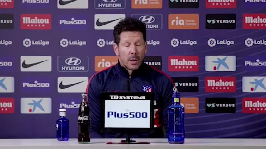 "Simeone: ""Che succede a Griezmann? Chiedete a Koeman"""