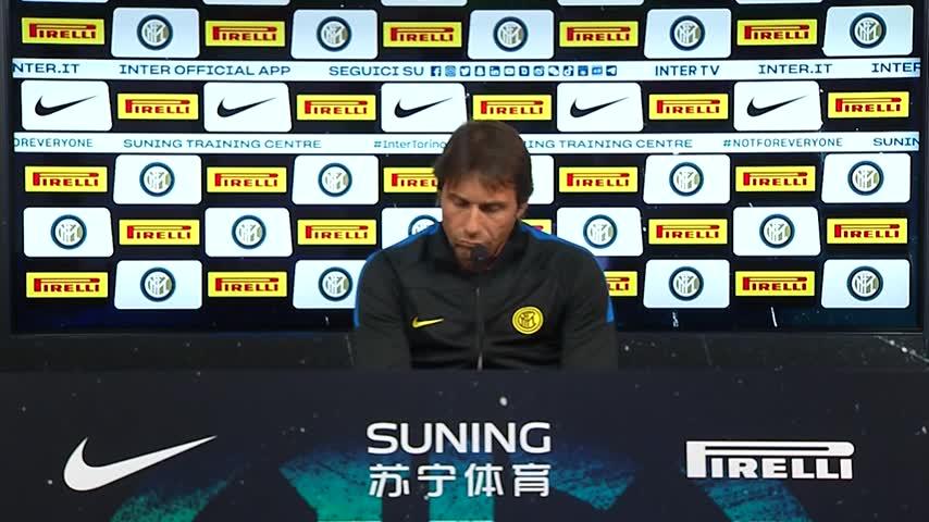 """Inter, Conte: """"Eriksen ha avuto tante occasioni. Play basso? Sarebbe snaturato"""""""