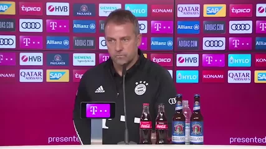 "Flick su Lewandowski: ""Merita il premio Best FIFA Player"""