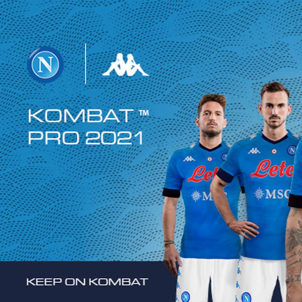 SSC Napoli: la nuova maglia 2021. Keep on Kombat