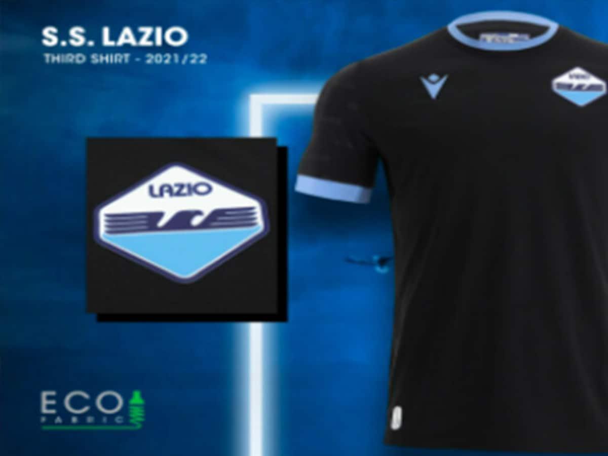 Lazio, svelata la terza maglia: color nero e richiamo alla storia