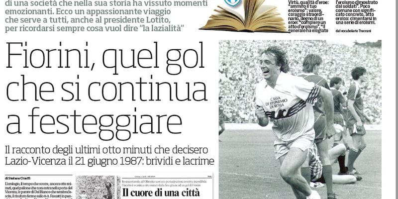 Speciale Lazio: Fiorini, quel gol che si continua a festeggiare