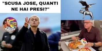"""<span style=""""color: rgb(153, 0, 0);"""">FOTO</span> La Lazio vince il derby e i tifosi si scatenano sui social con ironie e sfottò"""