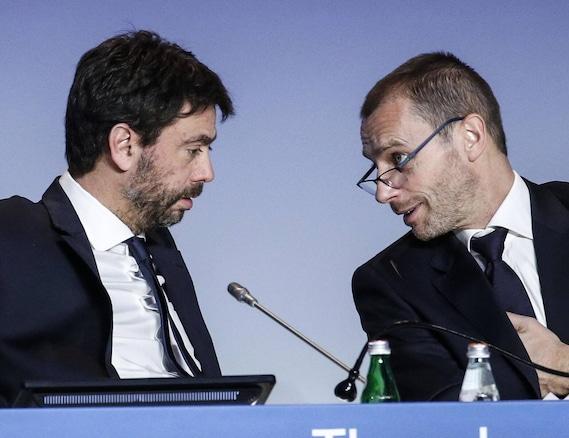 """Juve, Real Madrid e Barcellona: """"Avanti con la Superlega, l'Uefa non può minacciarci"""""""