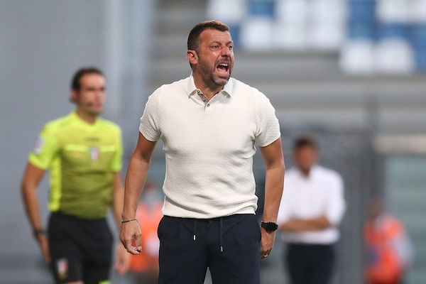 """Sampdoria, D'Aversa: """"Napoli? Spalletti, grandissimo lavoro"""""""