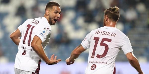 Sassuolo-Torino 0-1: commento sul risultato partita