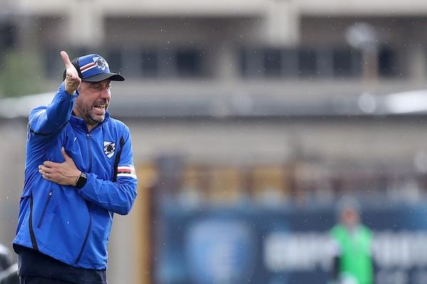 """Sampdoria, D'Aversa: """"Vittoria importante in vista del Napoli"""""""