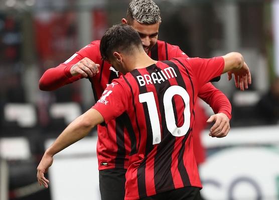 Milan-Venezia 2-0: Brahim Diaz e Theo Hernandez fanno volare Pioli