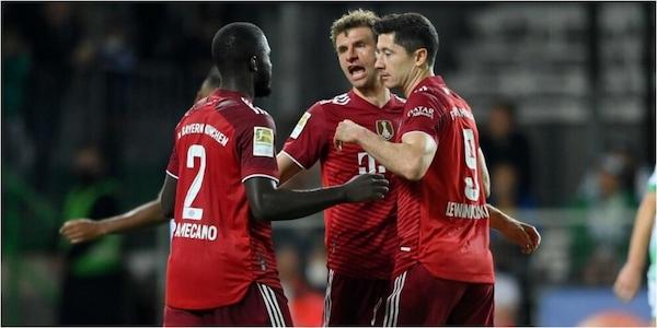 Bundesliga, Bayern Monaco da solo in testa: 3-1 al Greuther