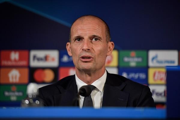 """Juve, Allegri: """"Chiellini torna nel derby, Chiesa può fare la punta"""""""