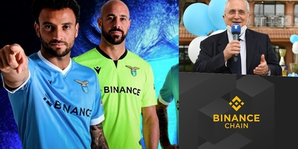 Lazio-Binance, tutti i dettagli del nuovo sponsor