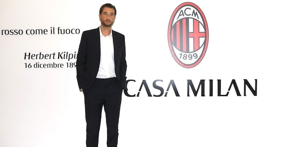 Milan, Mirante si presenta: