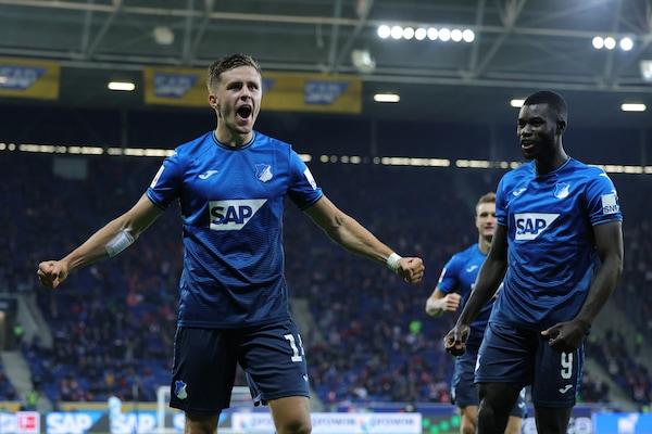 Bundesliga, Hoffenheim super: manita al Colonia