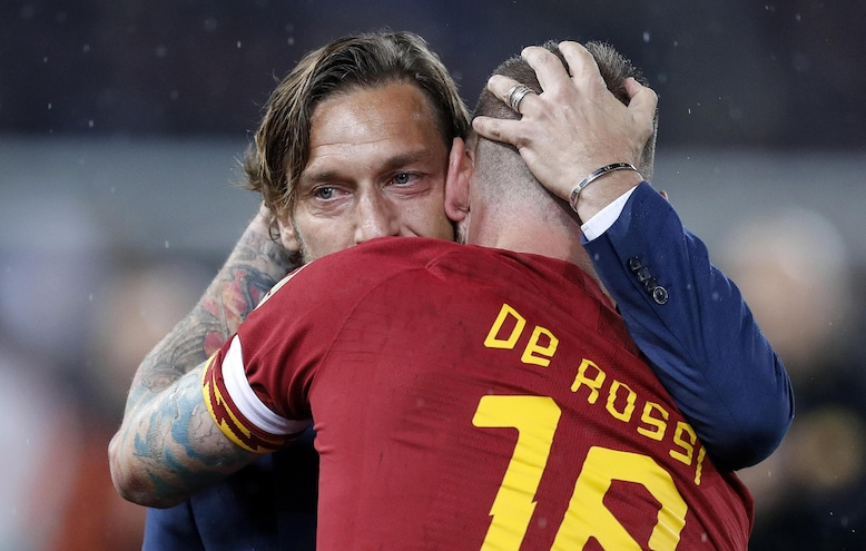 Totti and De Rossi, brothers forever