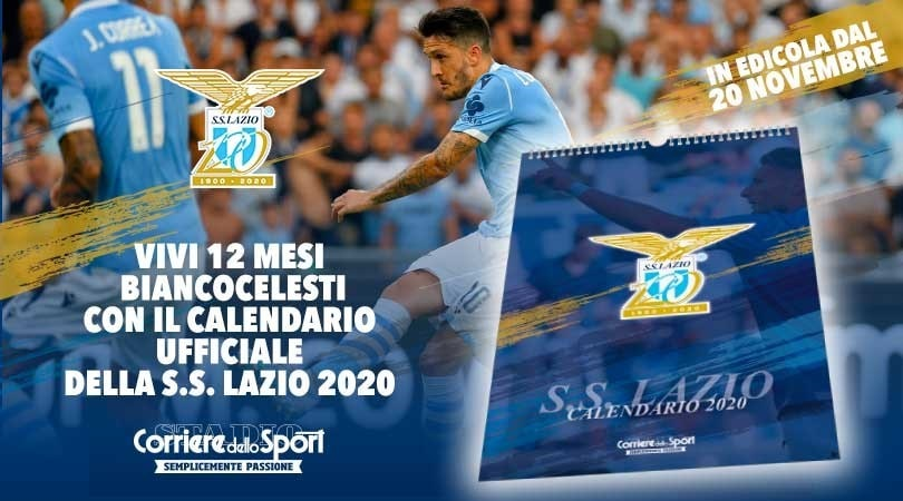 Il Calendario Ufficiale Della Ss Lazio 2020