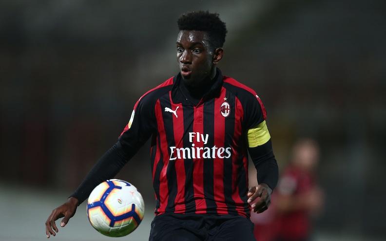 Milan, esteso di una stagione il prestito di Tsadjout allo Charleroi