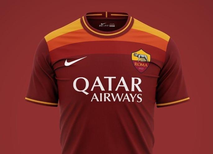 Roma, la nuova maglia 2020/2021 già in vendita su internet