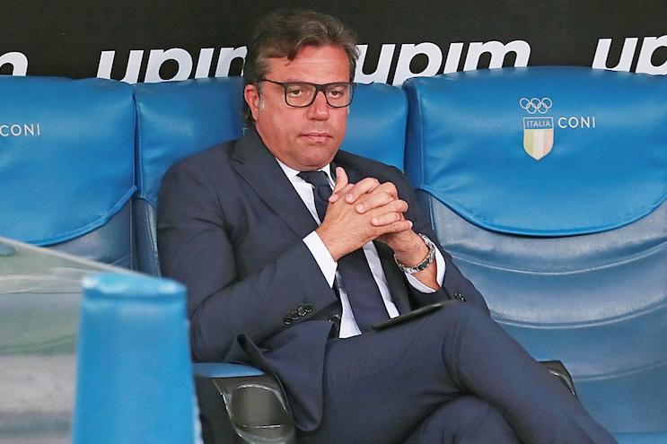 """Giuntoli: """"Osimhen al Napoli? L'agente ha aperto, vedremo in questi giorni"""""""
