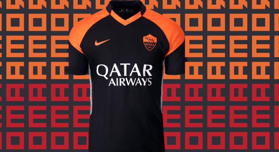 Roma, ecco la terza maglia: richiamo alle Nike Air Max