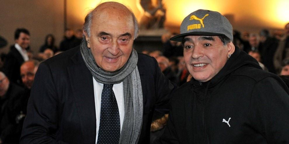 Corrado Ferlaino, Presidente del Napoli ai tempi di Maradona: Ti vogliamo bene Diego!