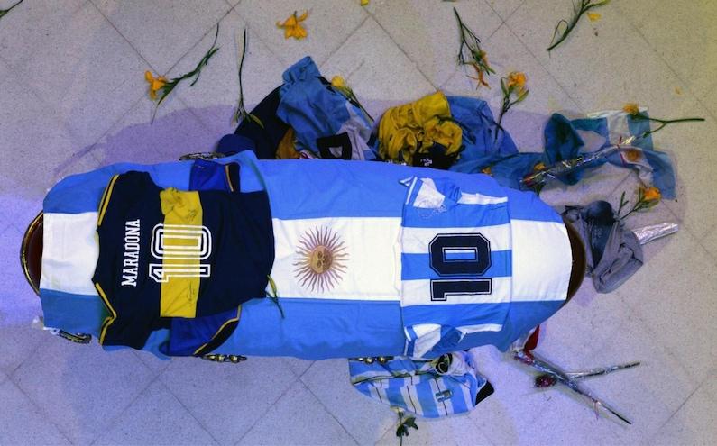 Maradona, l'ultimo saluto VIDEO