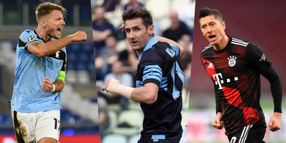 Lazio-Bayern, questione d'attacco: da Immobile-Lewandowski a Klose