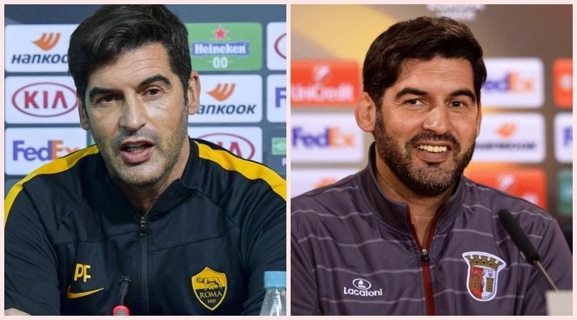 Image result for roma vs braga Paulo Fonseca